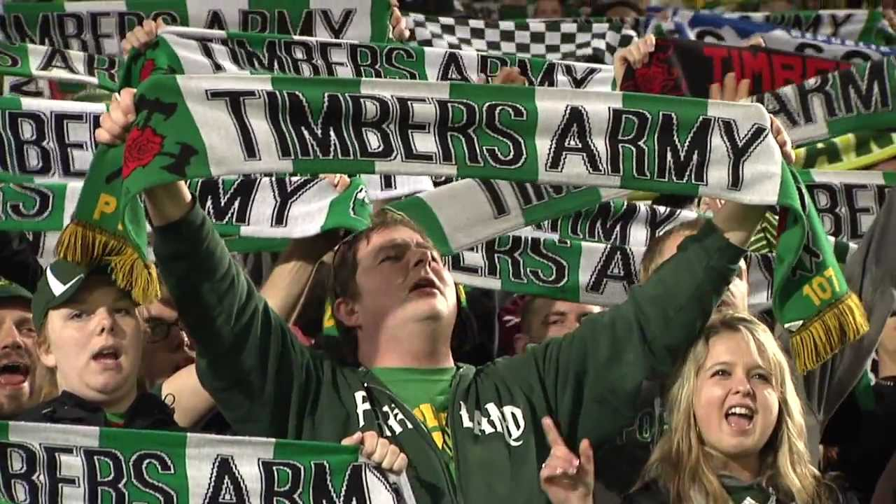 Timbers fans, used with permission ot the Portland Timbers