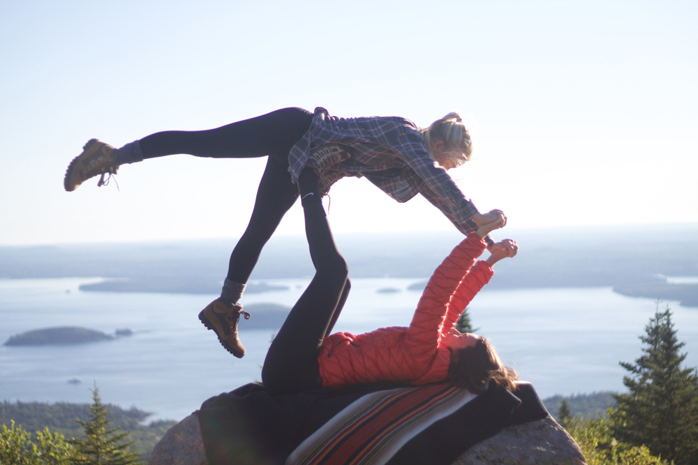 Karlov- Sunrise yoga!