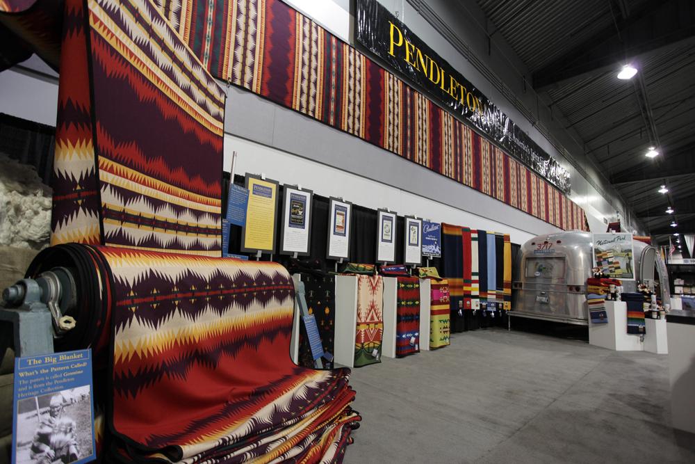 Pendleton display