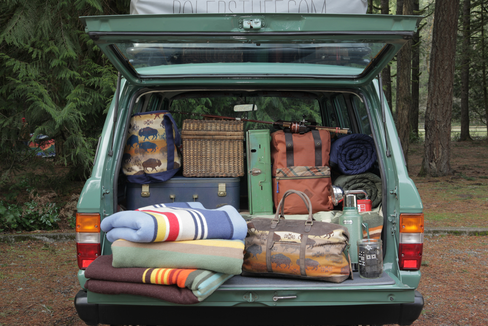 A well-packed SUV.