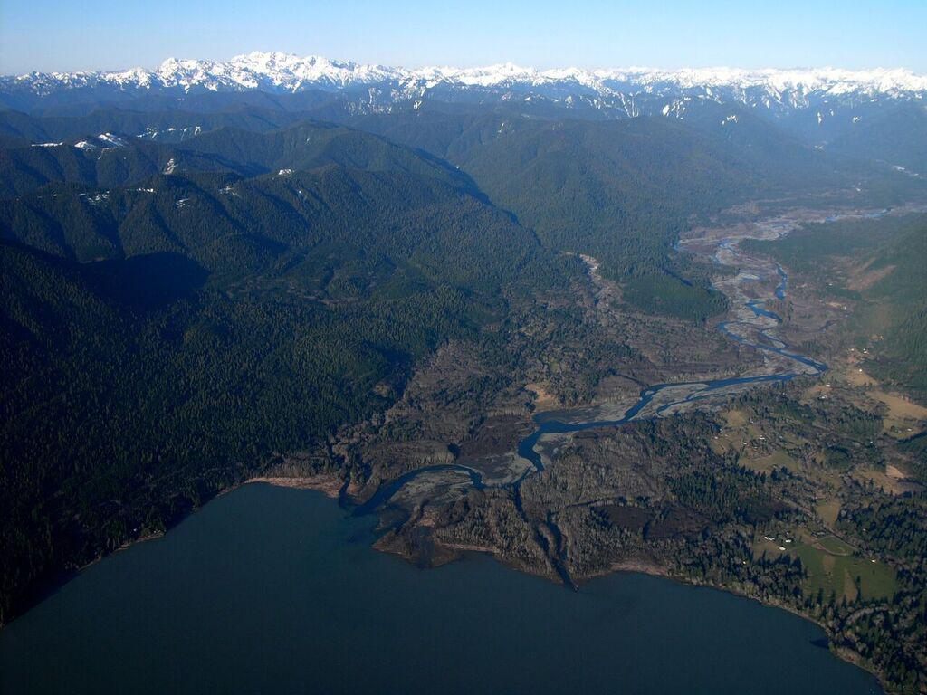 Olympic Range, courtesy Wikicommons