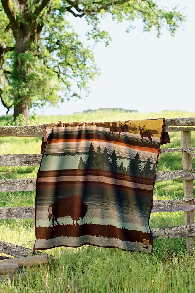 buffalo blanket