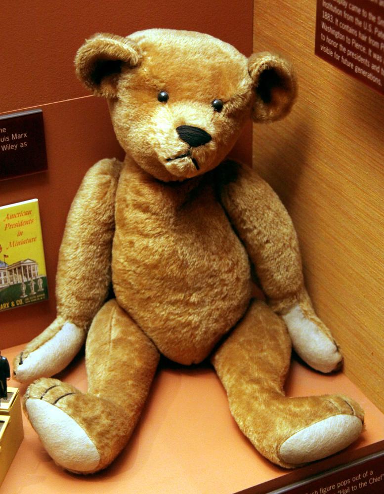 Teddy bear, courtesy Smithsonian