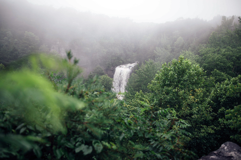 Matthews_ a waterfall
