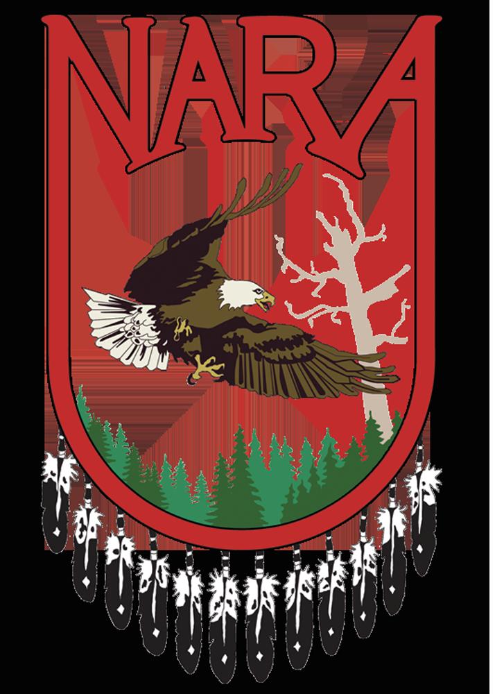 NARA Logo - an eagle in flight