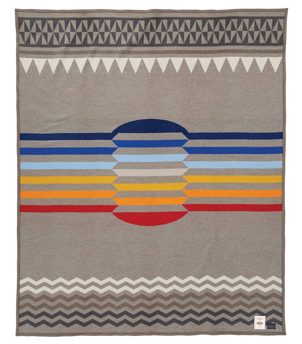 Return of the Sun, an artist designed blanket for the COllege FUndze788-53145_aicf_returnofthesun