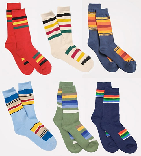 pendleton-stripe-socks