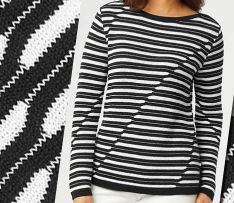 asymmetrical-stripe-sweater