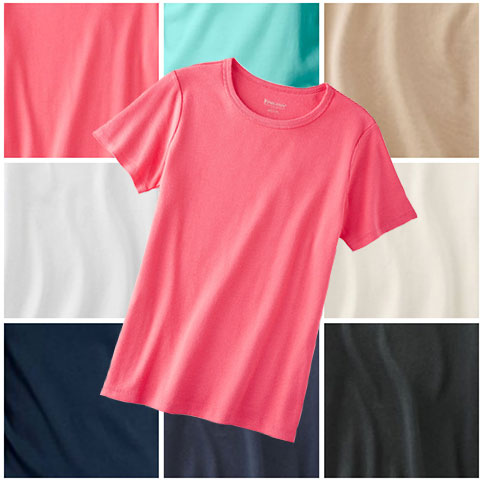 colorful-short-sleeve-tee-shirts