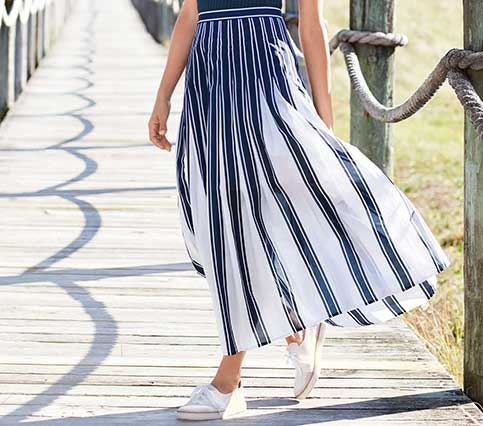 stripe-maxi-skirt