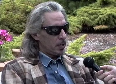 An actor in a vintage Pendleton Topster.
