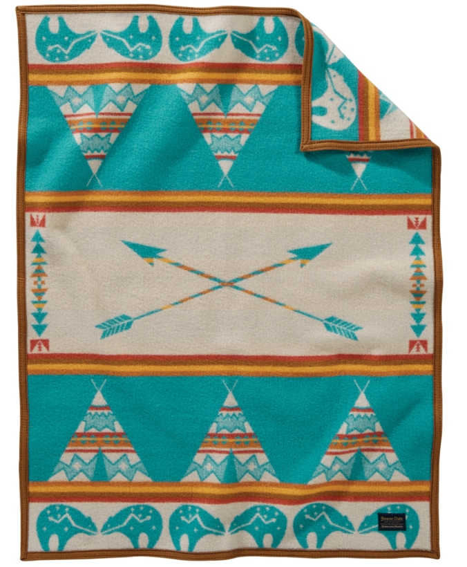 Pendleton Star Guardian child-sized blanket.