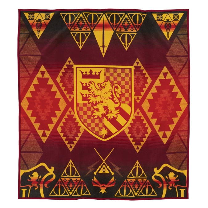 The Gryffindor blanket by Pendleton