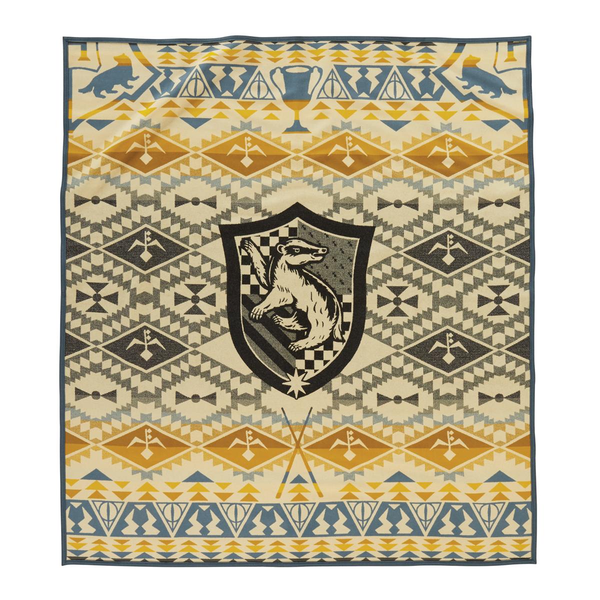 The Hufflepuff blanket by Pendleton