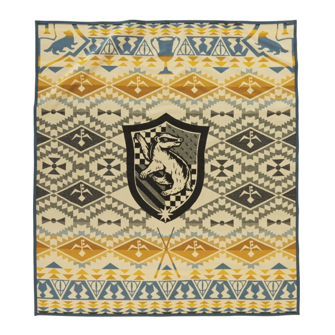 The Hufflepuff blanket by Pendleton