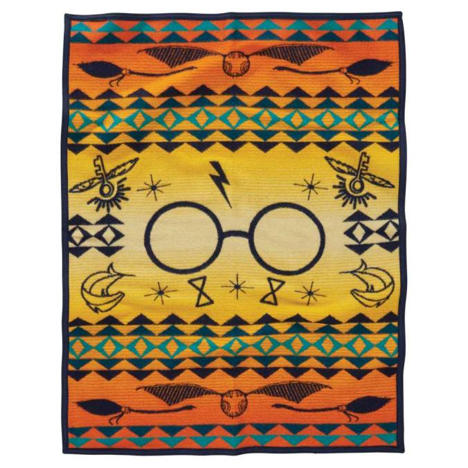 Harry's Journey, a child-sized blanket by Pendleton