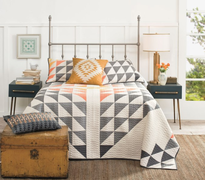 THe Pendleton Arrowhead cotton quilt set