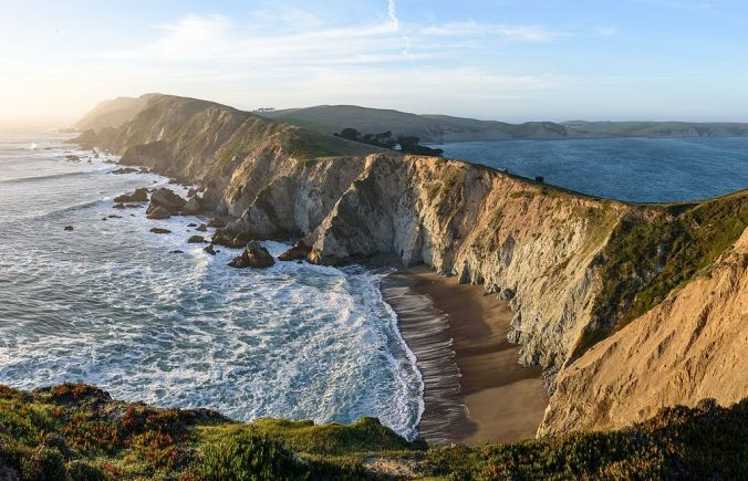 Chimeny Rock on Point Reyes, California
