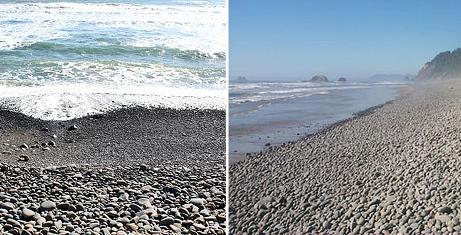 """Magic Rocks Beach"" at Falcon Cove on the Oregon coastline"