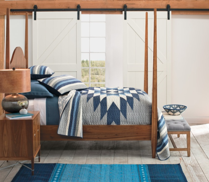 The Pendleton Sierra Madre cotton quilt set
