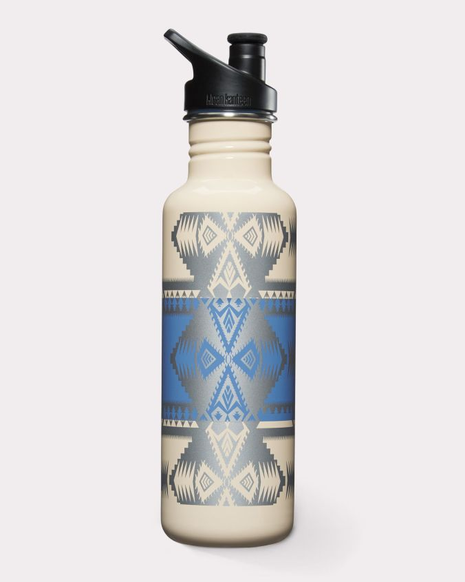A Pendleton water bottle/vacuum flask/