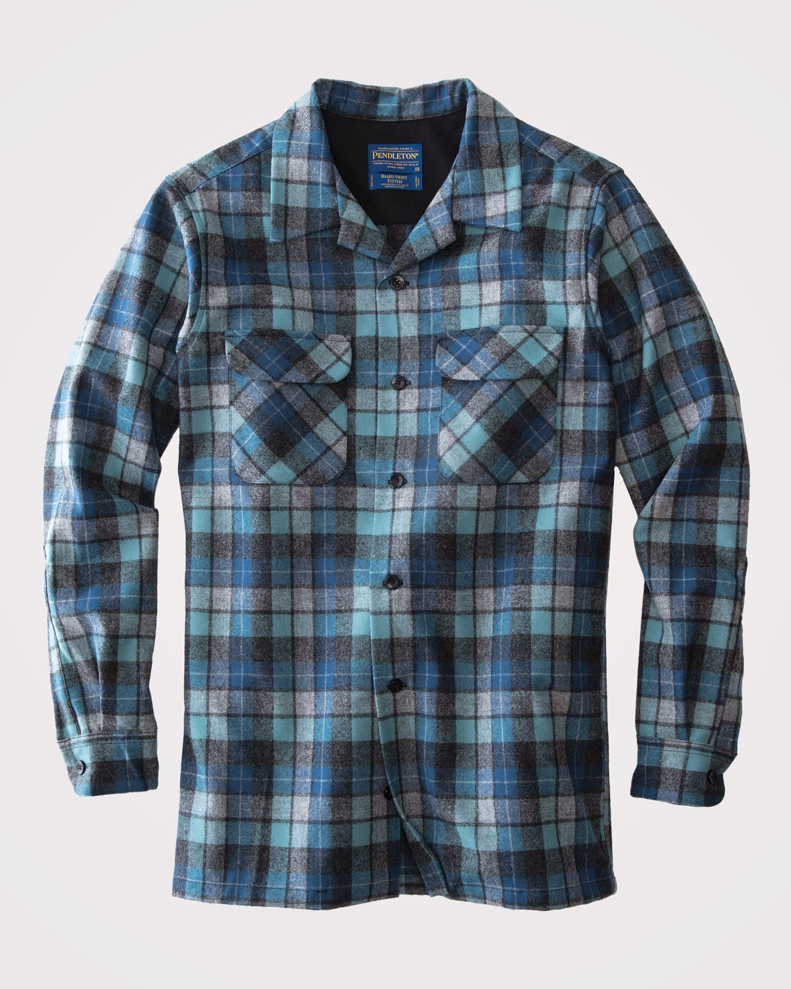 "Pendleton Board Shirt in the Original Surf Plaid worn by the Beach Boys, back when they first started out as ""The Pendletones."""