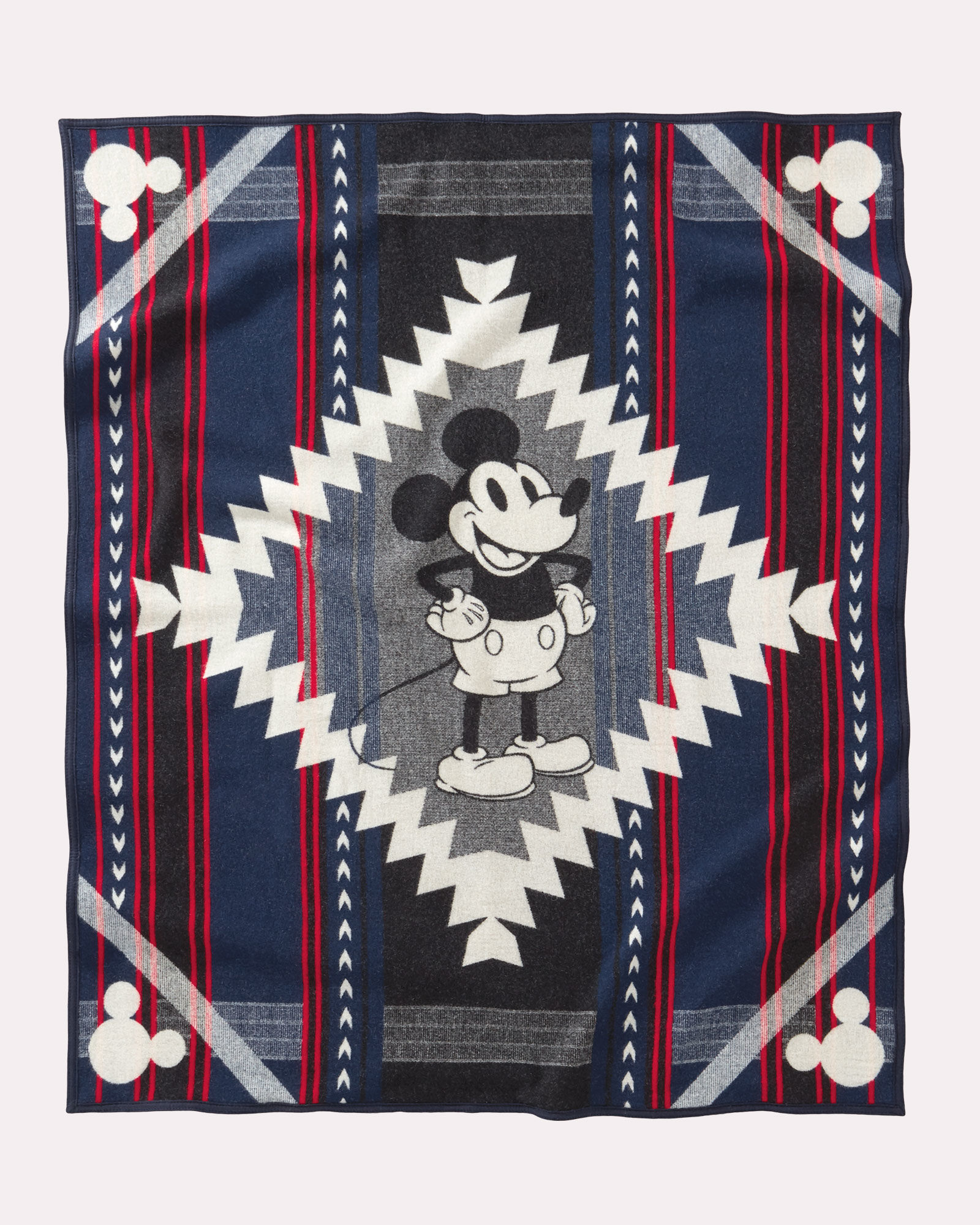 The Mickey's Debut blanket, by Pendleton