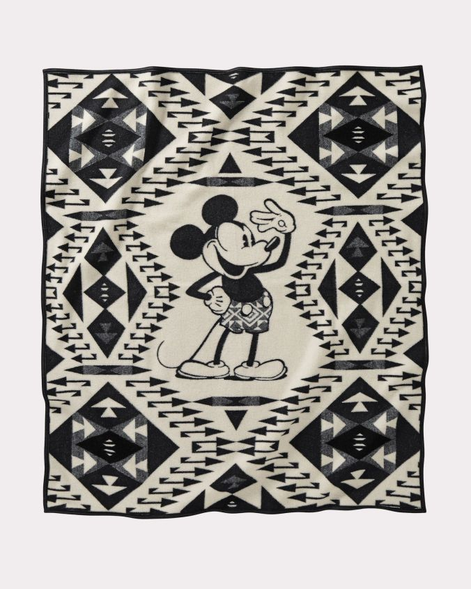 Mickey's Salute blanket, by Pendleton