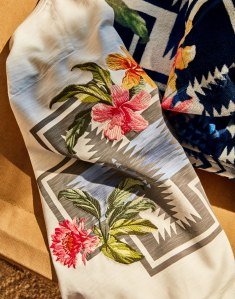 A shirt from the Pendleton and Tommy Bahama collaborative line.