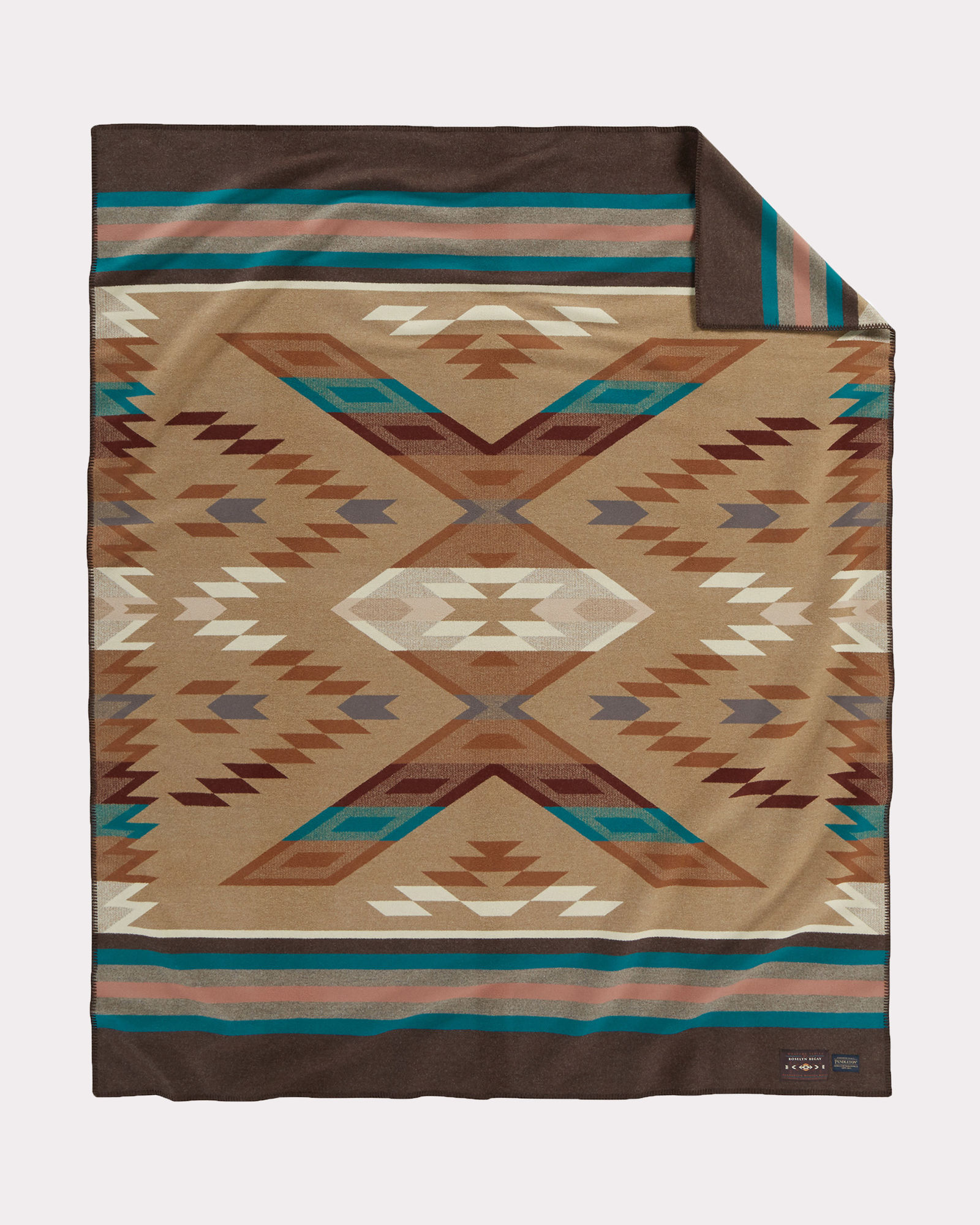 Pendleton Weavers Series blanket number one, from a work by Rosalyn Begay.