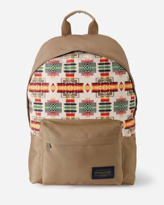 Canopy Canvas backpack by Pendleton in Harding Tan