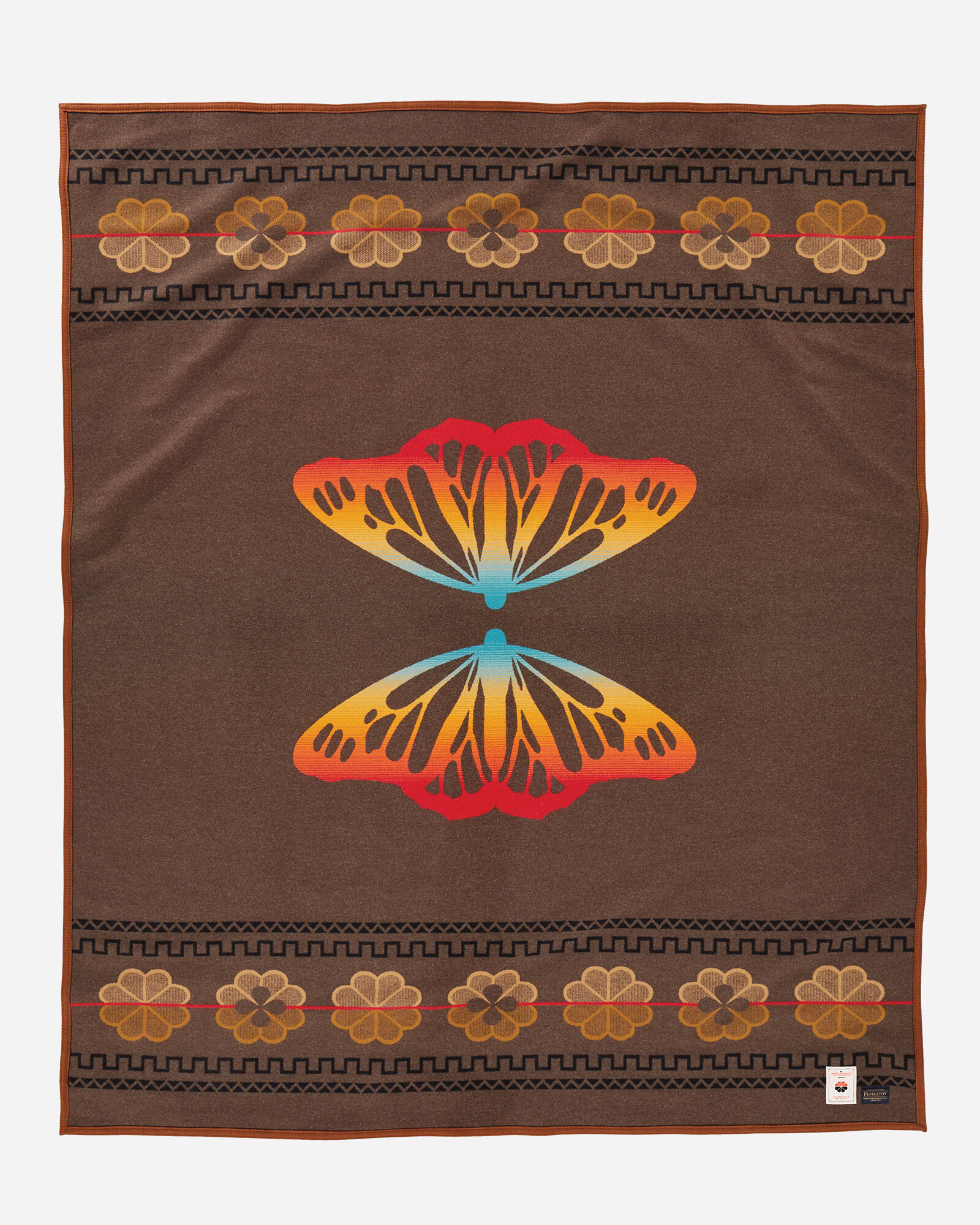 Pendleton Butterfly blanket - front view