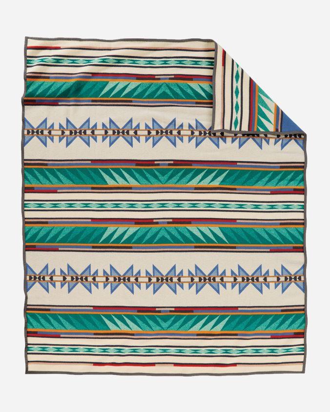 Pendleton Turquoise Ridge blanket