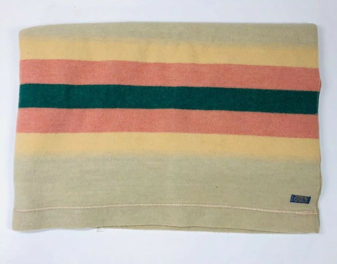 The 1940s stripe version of the Pendleton Zion National Park blanket.