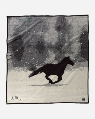 A Horse Called Paint, a blanket for Pendleton Woolen Mills designed by artist Judd Thompson.