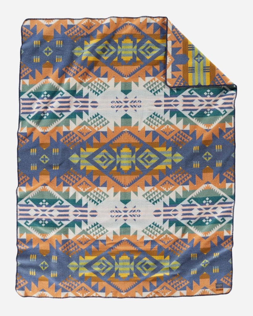 Journey West Craftsman Collection blanket by Pendleton