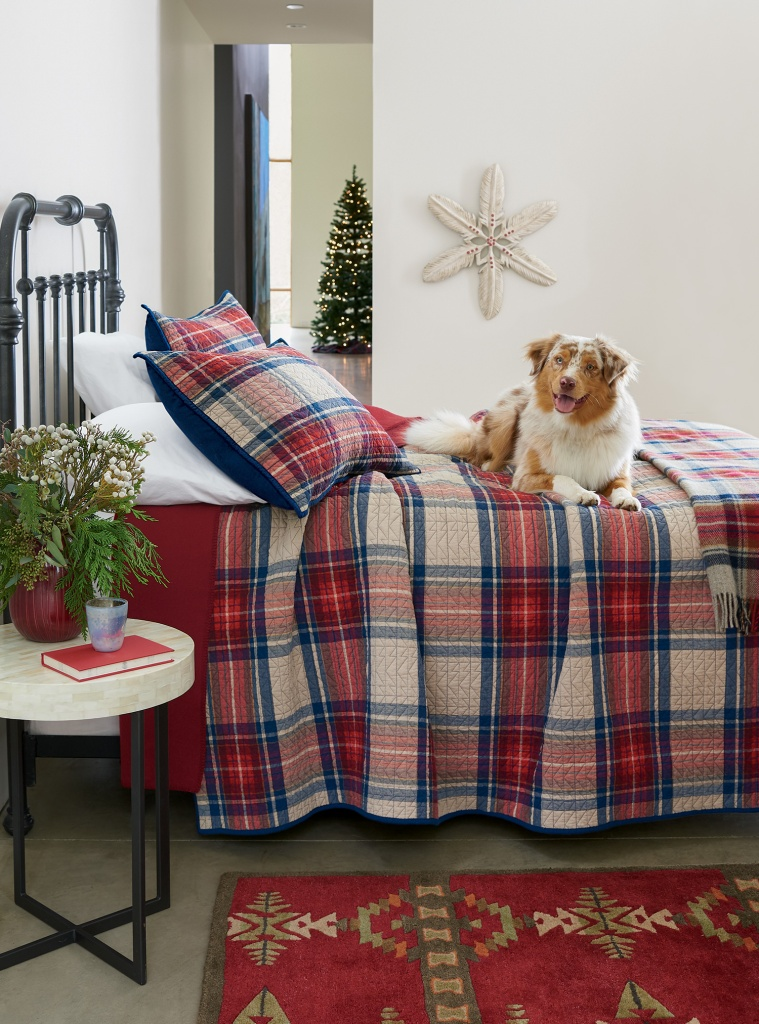 Vintage Dress Stewart Tartan bedding set
