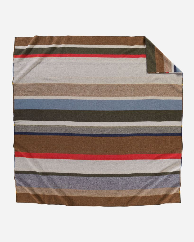 Bridger Stripe blanket - reverse