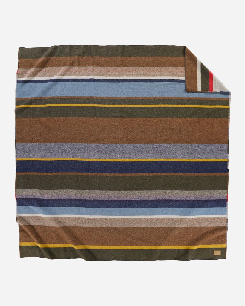 Bridger Stripe blanket - front