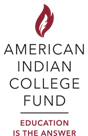 Logo for the American Indian College Fund
