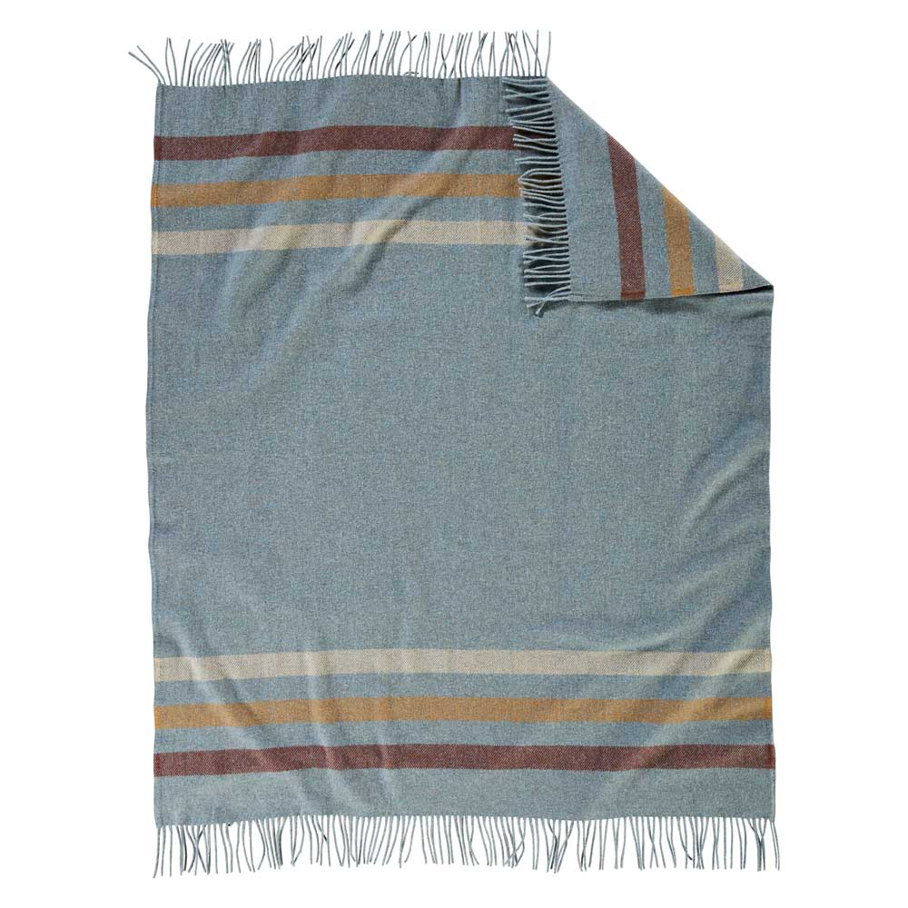 Pendleton Eco-Wise Wool throw in Shale
