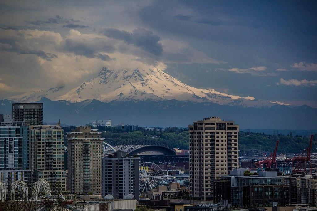 Seattle skyline via Wikicommons